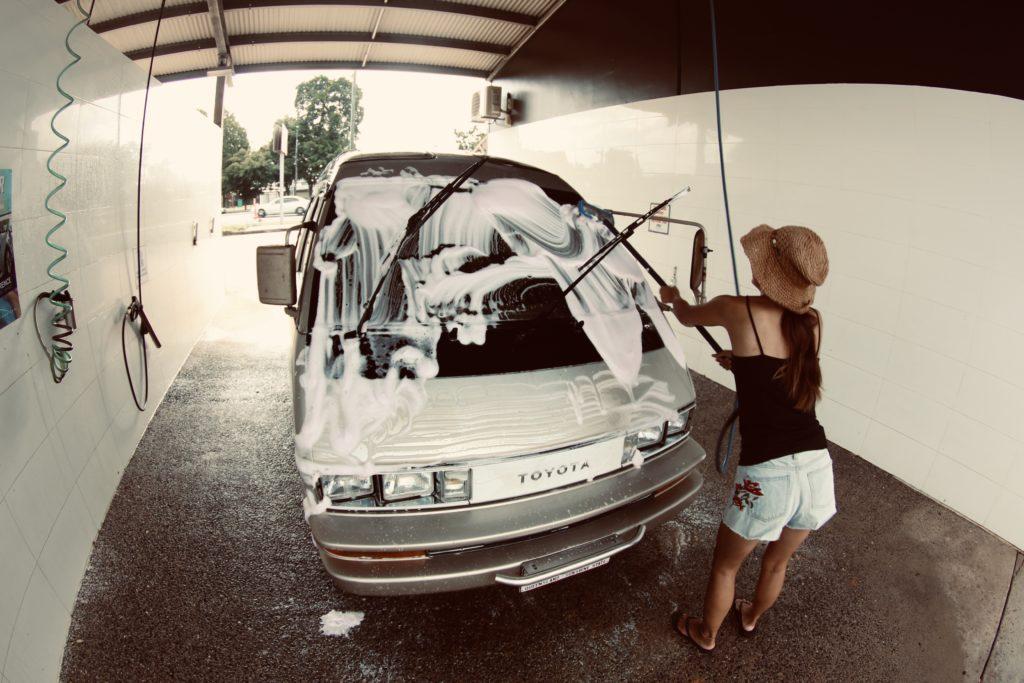 オーストラリアで洗車