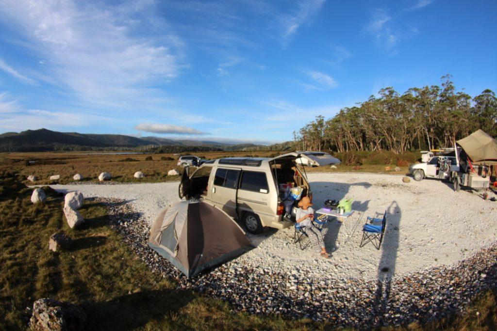 オーストラリアのフリーキャンプエリア
