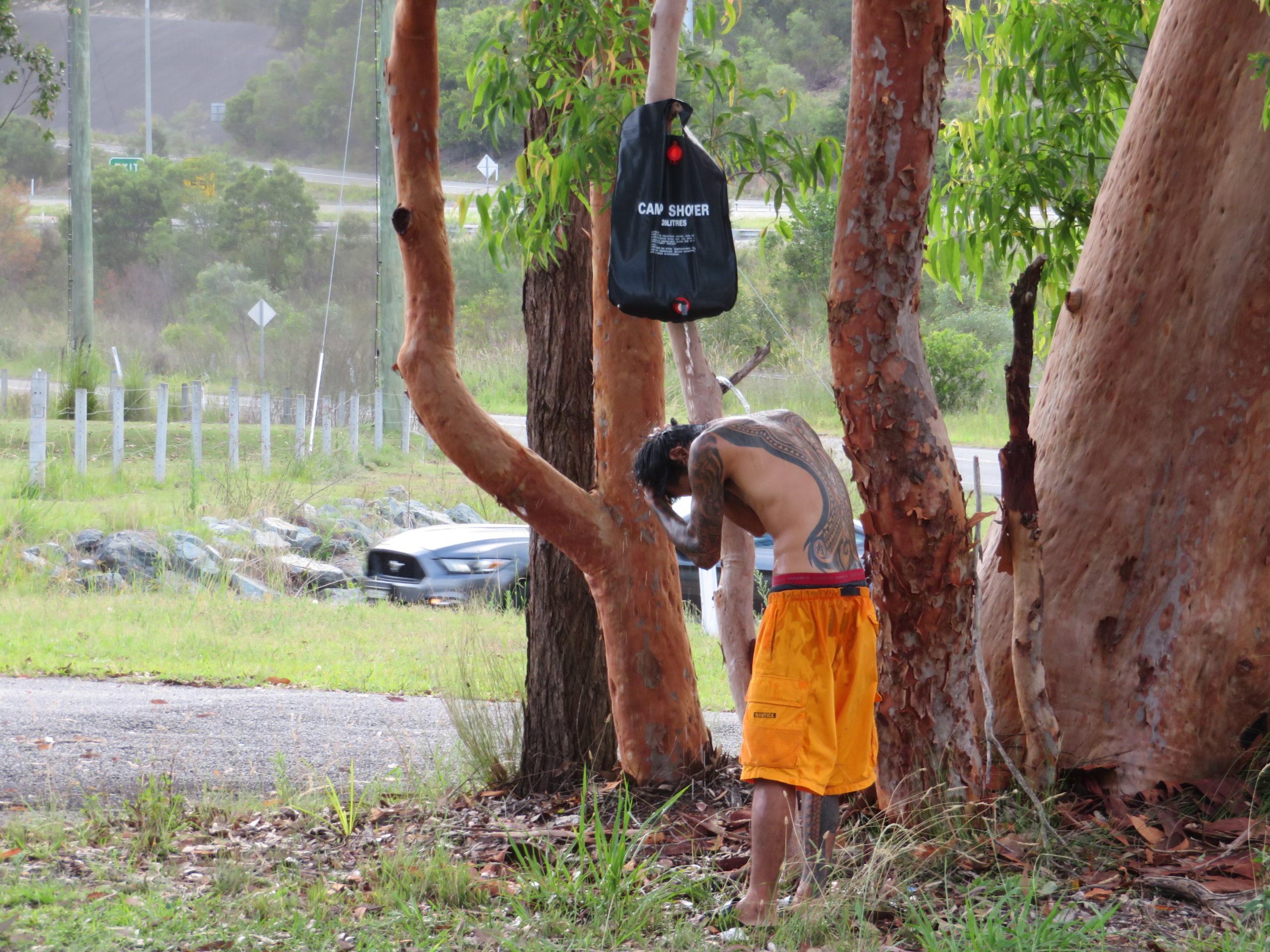 オーストラリア一周のシャワー事情