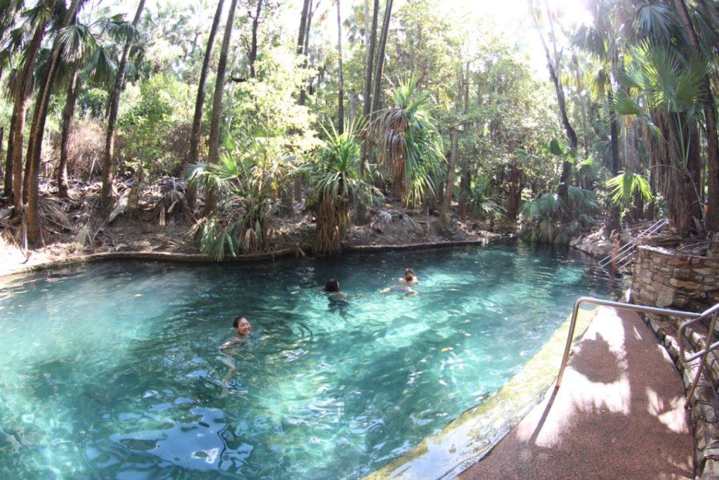 エルジー国立公園の自然プール