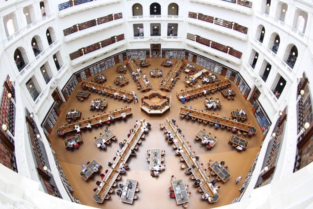 ビクトリア州立図書館 メルボルン