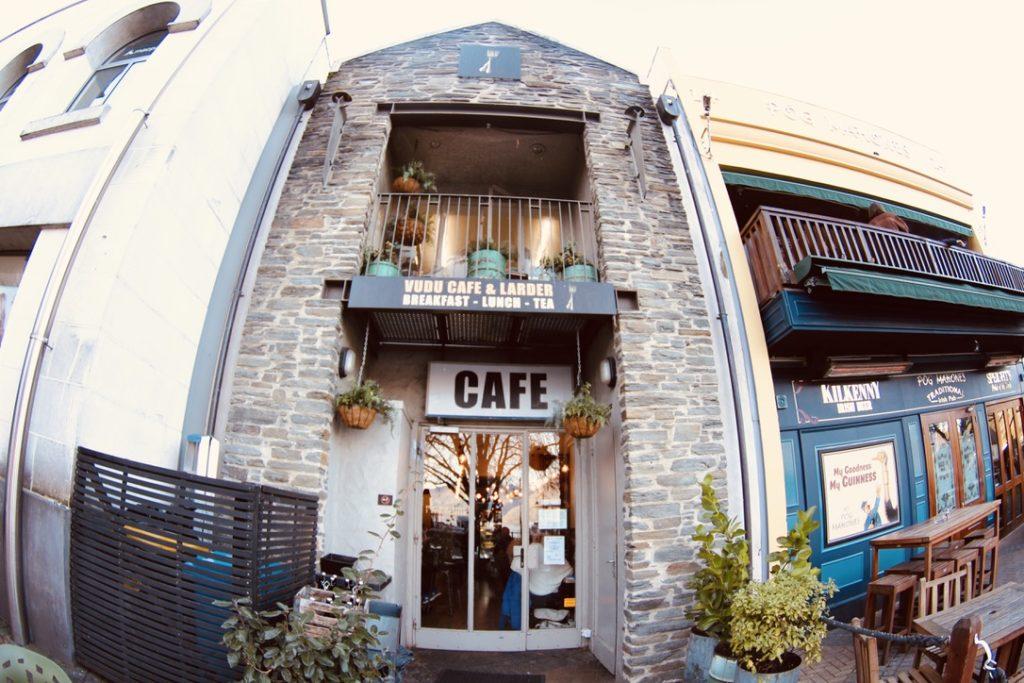 クイーンズタウンのカフェ