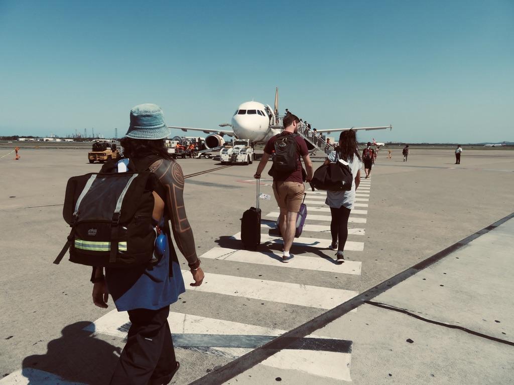 ブリスベンからバンダバーグまで飛行機で行く