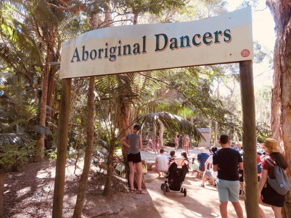 アボリジニのダンスショー