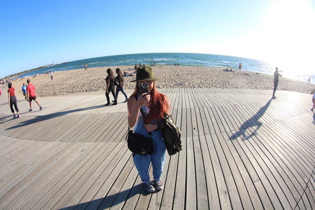セントキルダのビーチ
