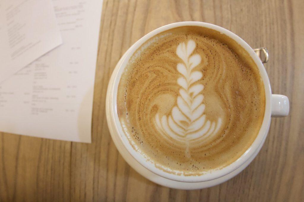 ハイヤーグラウンドのコーヒー