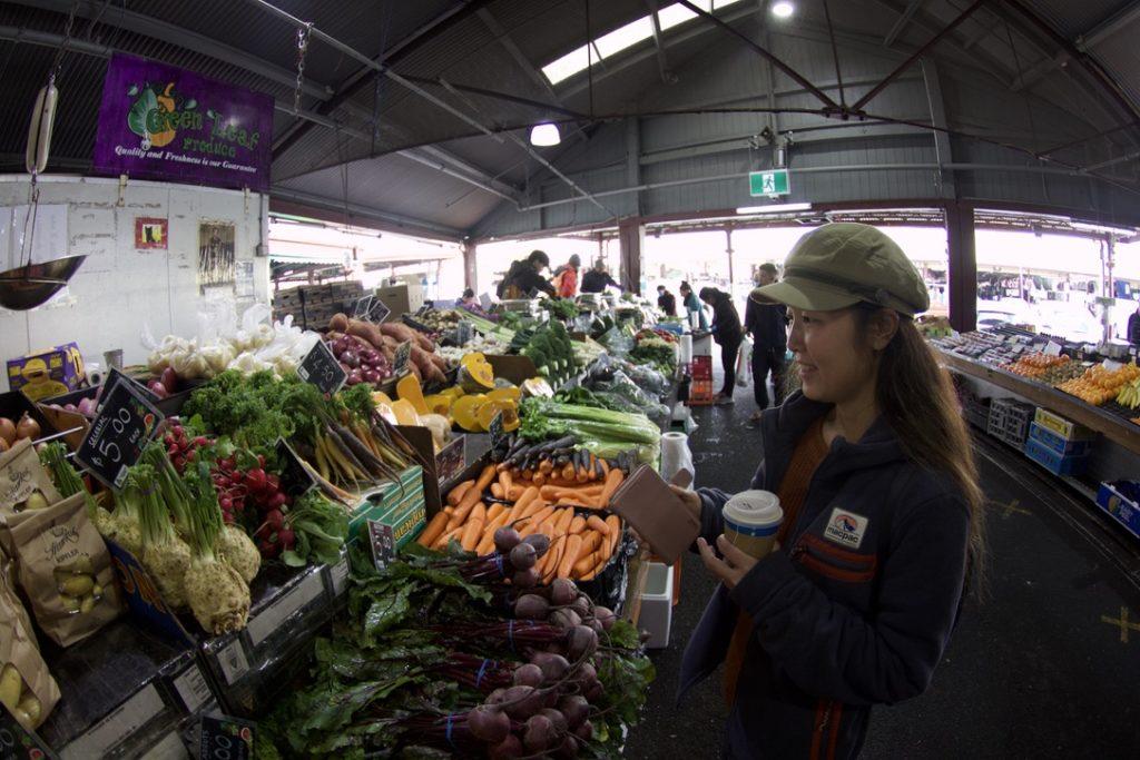 クイーンビクトリアマーケットの市場