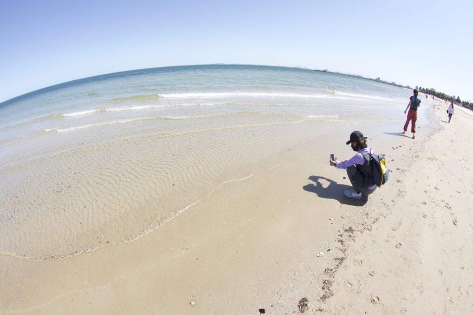 メルボルンのセントキルダビーチ