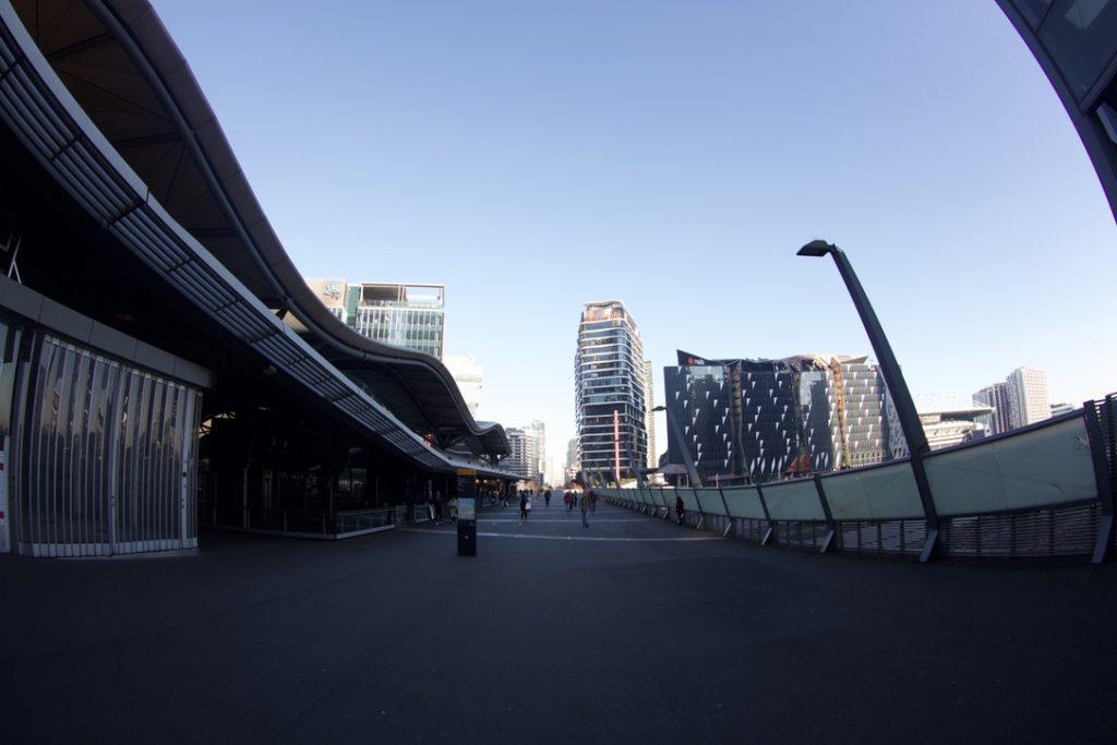 サザンクロス駅のお散歩コース