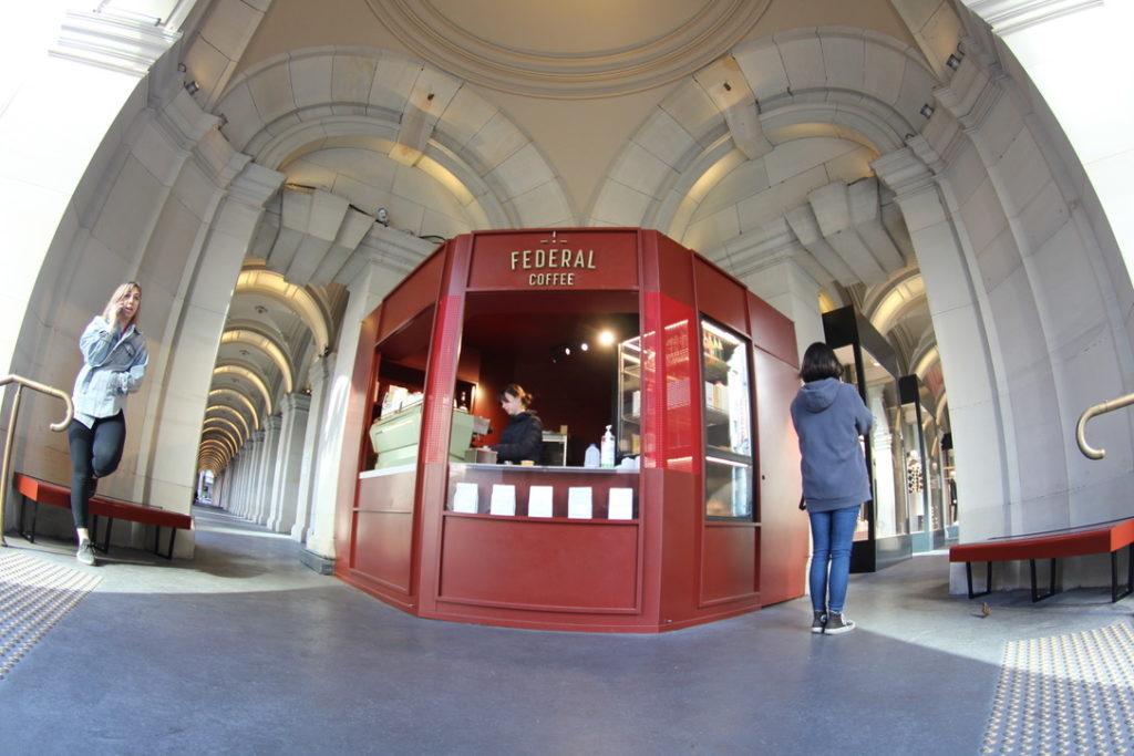 メルボルンのFederal Coffee Palace(フェデラルコーヒーパレス)