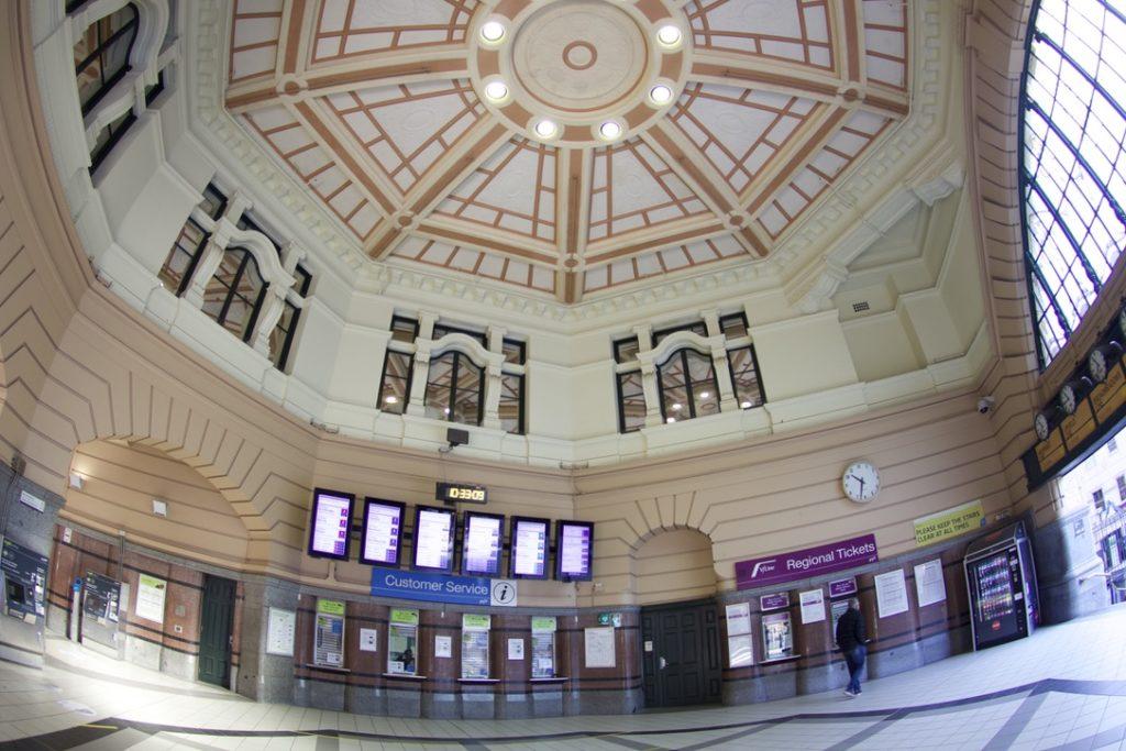 フリンダースストリート駅のドーム