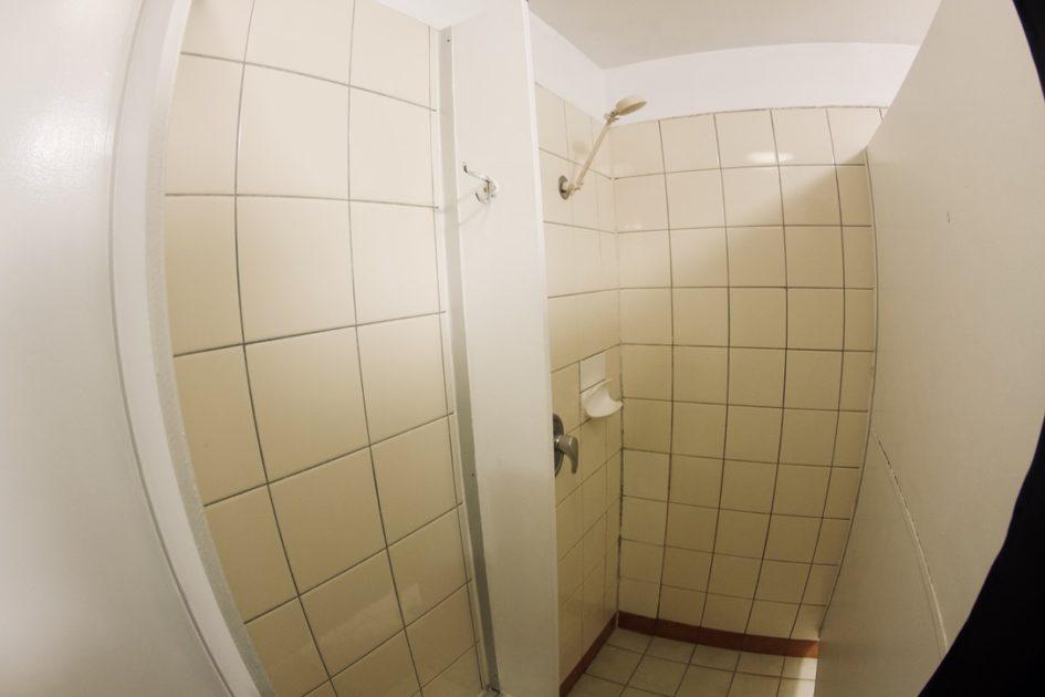 オーストラリアのシャワー ガソスタ