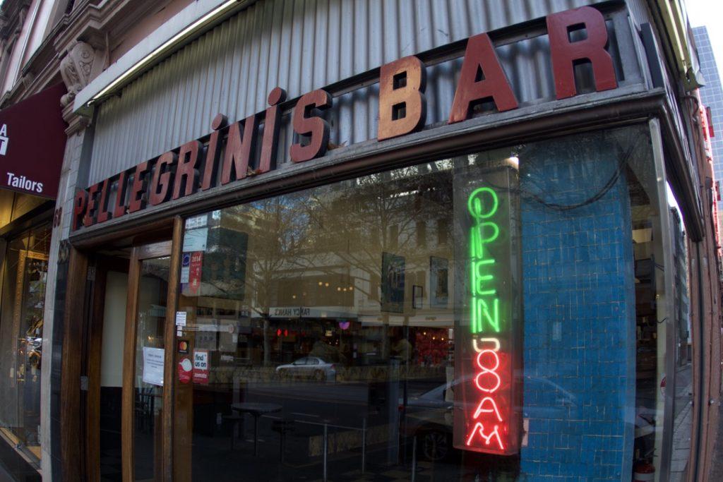 Pellegrini's Espresso Bar(ペリグリーニ・エスプレッソ・バー)