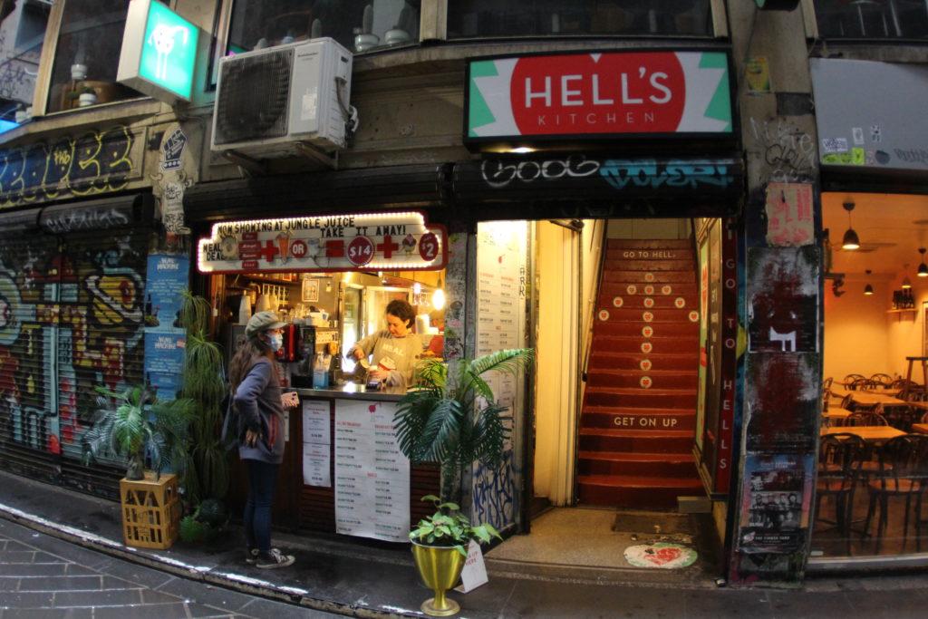 Hell's Kitchen(ヘルズ・キッチン),メルボルン,