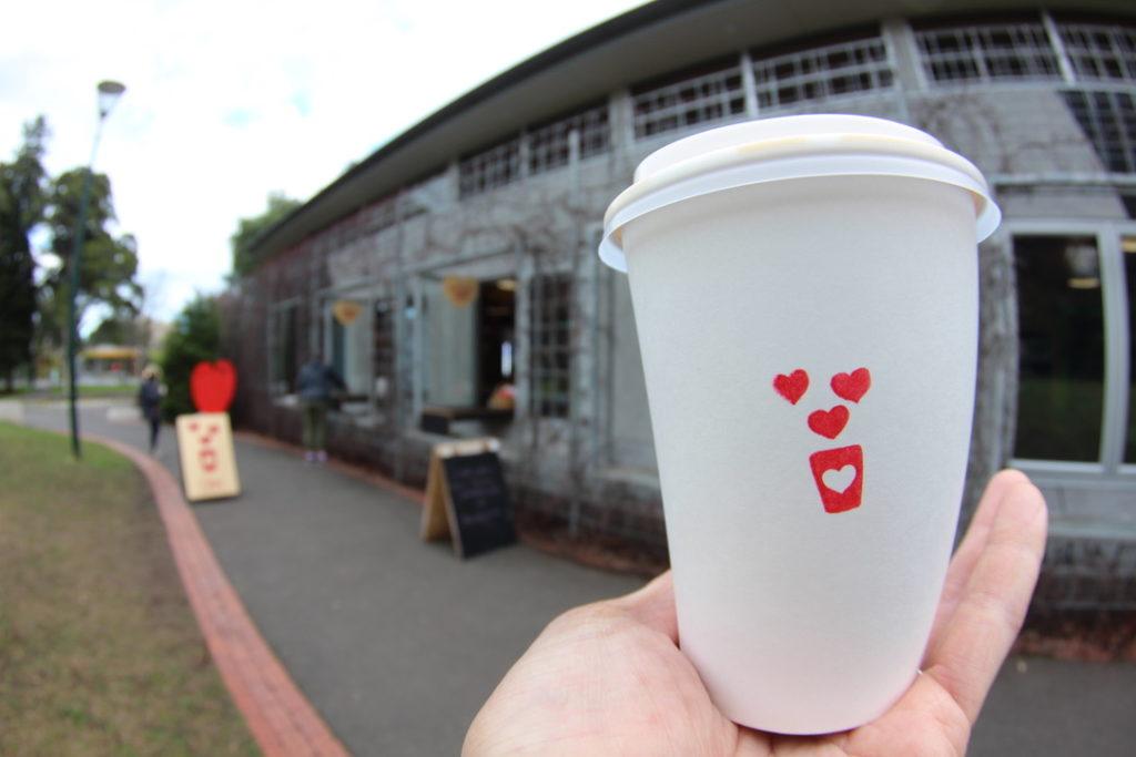 Fitzroy Gardens(フィッツロイガーデンズ)のカフェ,