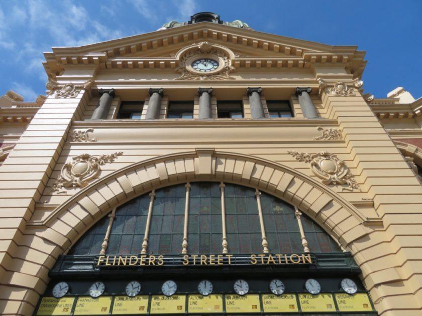 フリンダースストリート駅の時計