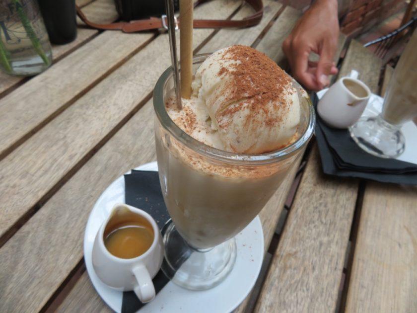 ジャスパーコーヒーのコーヒーパフェ