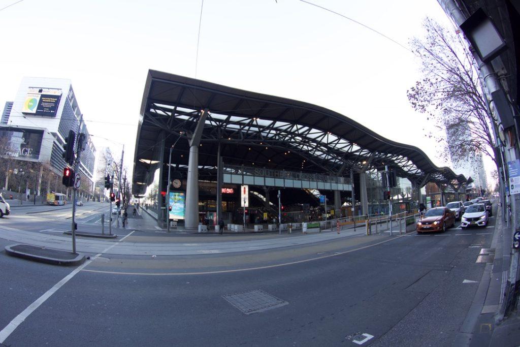 サザンクロス駅の外観