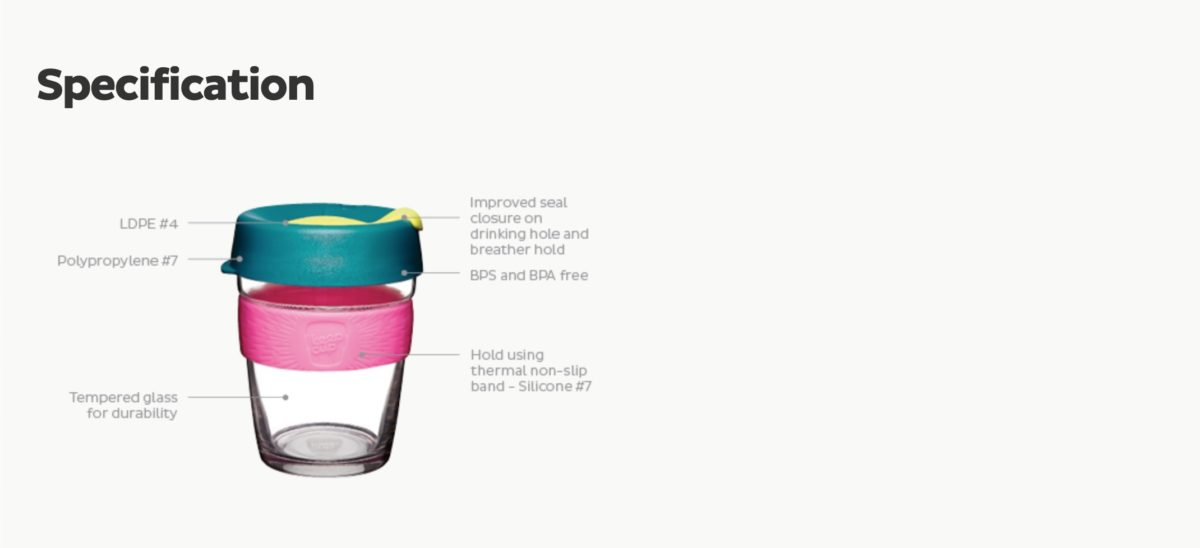 keep cupのオーダー