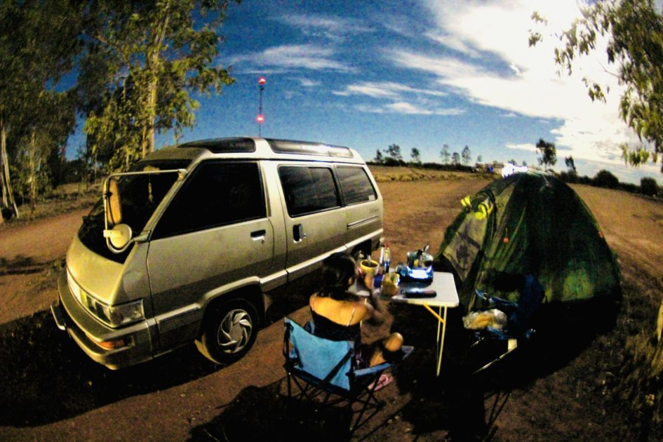 オーストラリアのフリーキャンプ場