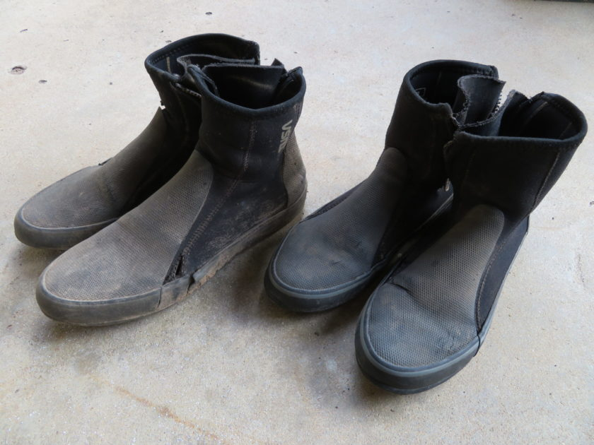 ファームの服装 靴
