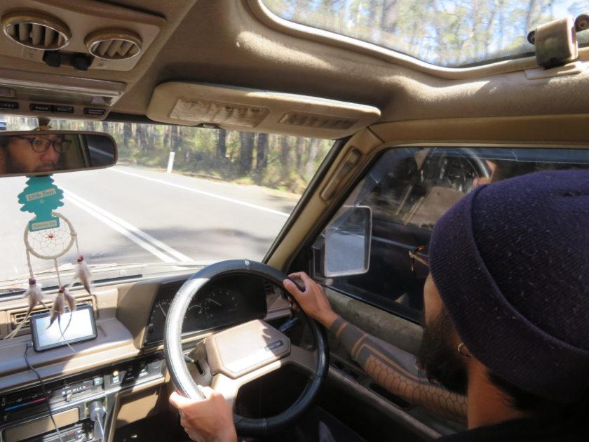 オーストラリアで運転
