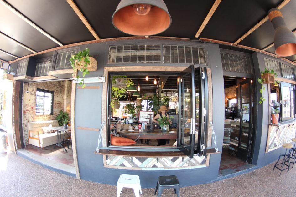チルダースのカフェ