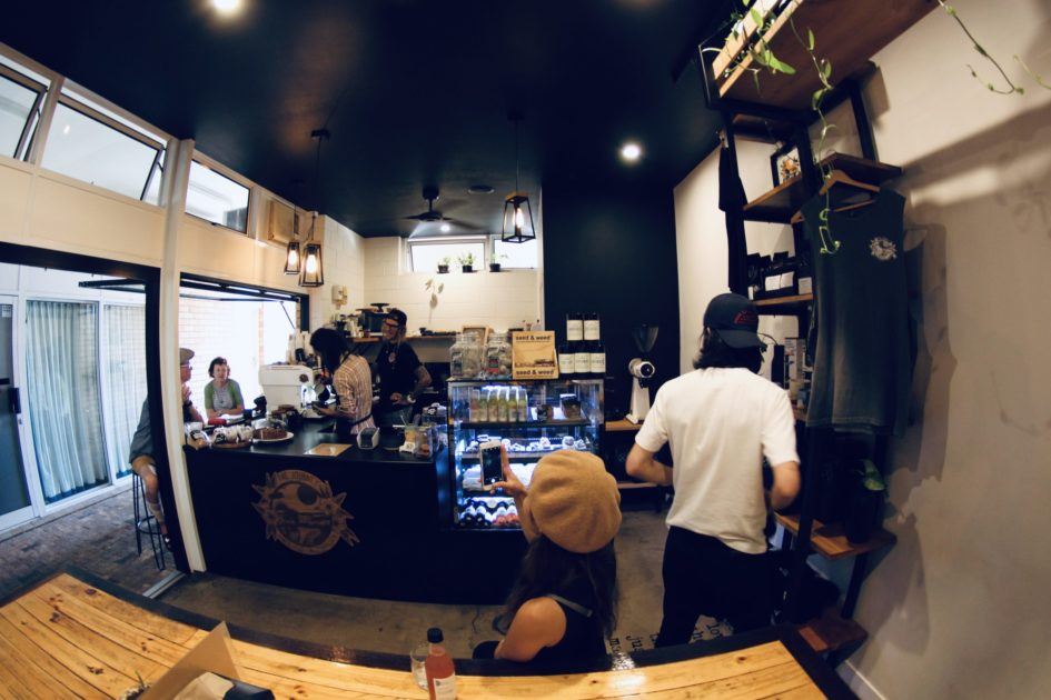 Bargaraのカフェ