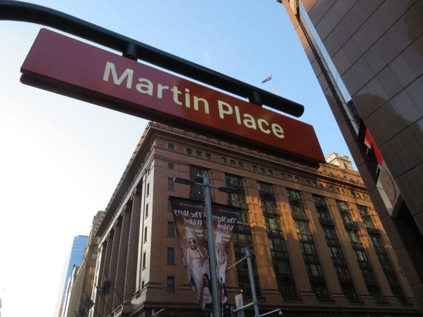 シドニーのマーティン・プレイス