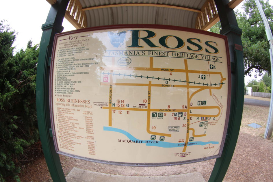 タスマニアのROSS(ロス)