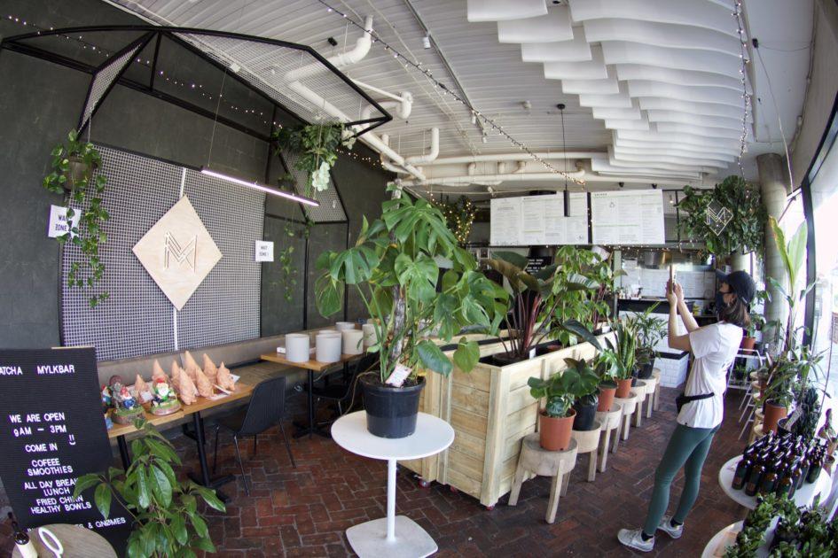 セント・キルダのカフェ MATCHA MYLKBAR