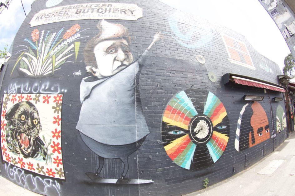 セント・キルダのカフェ Wall Two 80