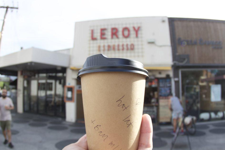 セント・キルダのカフェLEROY ESPRESSO