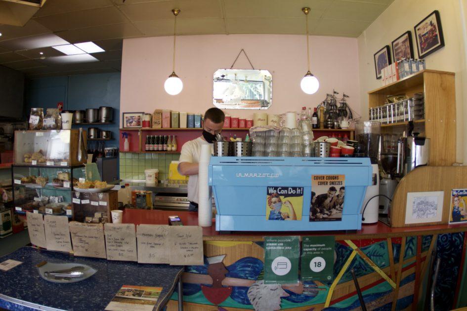 セント・キルダのカフェ Galleon Cafe