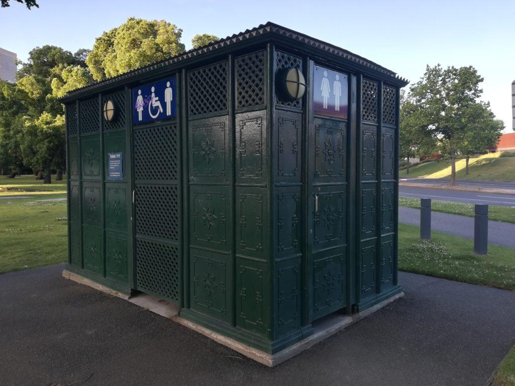 オーストラリアのトイレ