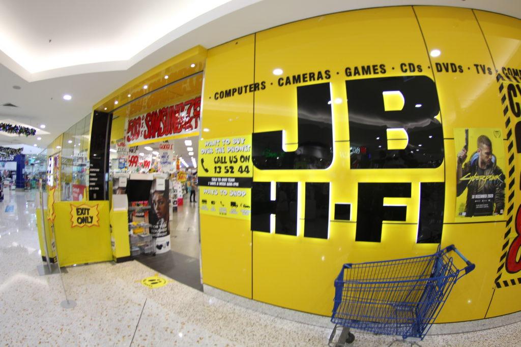 バンダバーグのJB Hi-Fi